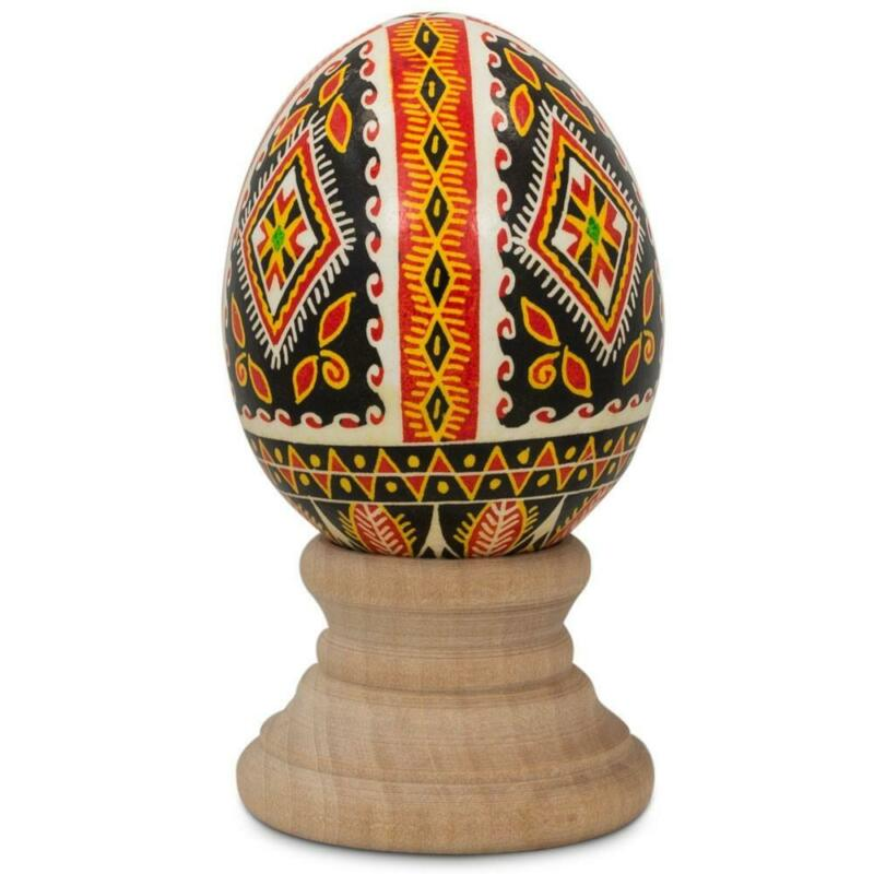 Real Blown out Eggshell Pysanka Ukrainian Easter Egg