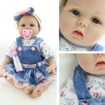 "22"" Reborn Dolls Handmade Real Life Is Like A Newborn Baby Children's Gifts Toy"