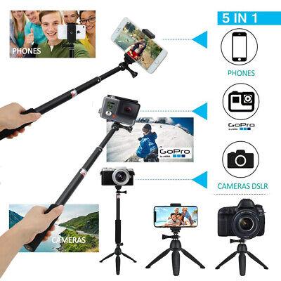 Bluetooth Einbeinstativ Selfie Stick Stativ Stange Stab f. iPhone Samsung