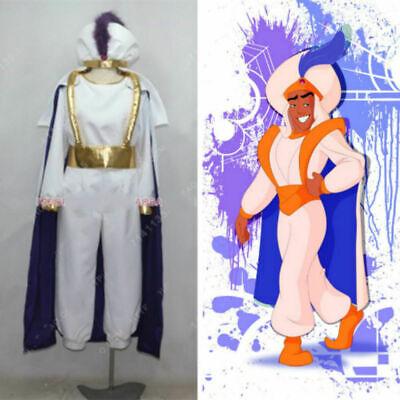 Aladdin Lamp Prince Man Halloween uniform Outfit Cosplay Costume Custom Made - Halloween Uniform
