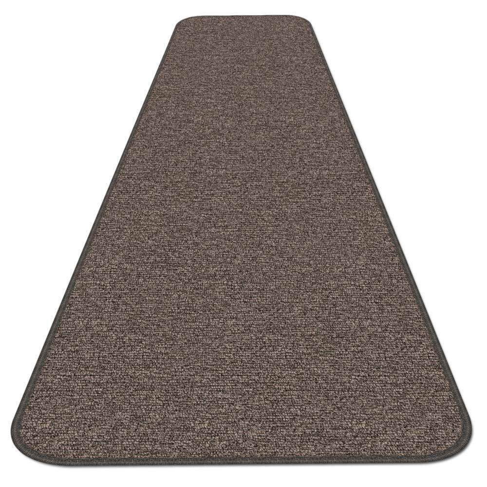 SKID-RESISTANT CARPET RUNNER hall area rug floor mat PEBBLE