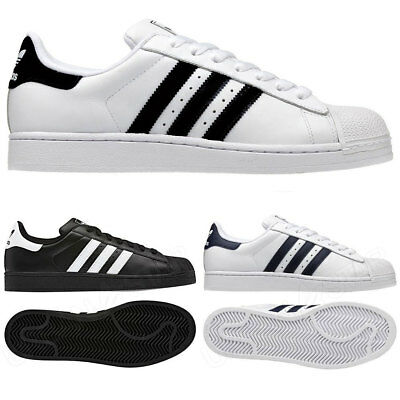 Adidas Originals Mens Superstar 2 Trainers Retro Style Shoes UK Sizes 7 - 12