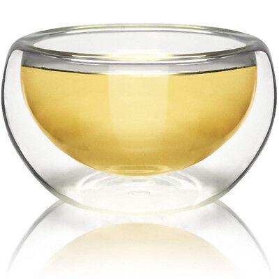 - NEW! TEAOLOGY LUNA BOROSILICATE GLASS TEA/ESPRESSO CUP - HIGH HEAT RESISTANCE