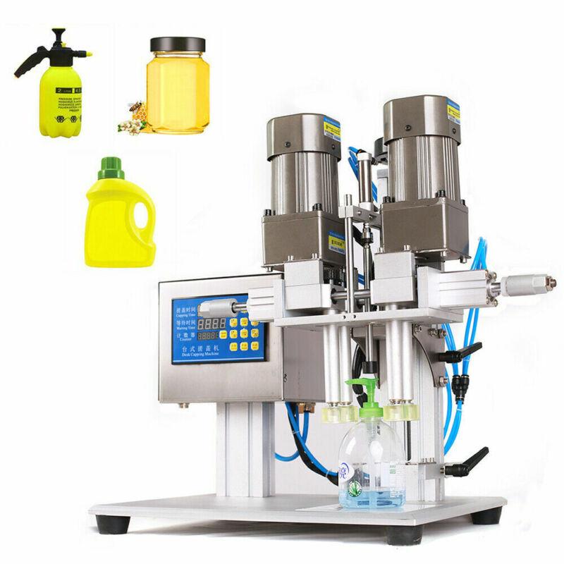 Semi-automatic Bottle Capping Machine Pneumatic Desktop Bottle Screw Capper USA