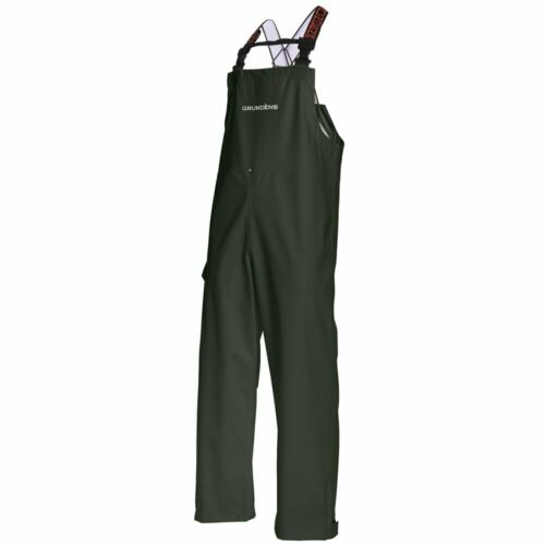 Grundens Neptune 509 Fishing Bib Pants - GREEN - Select Size - New