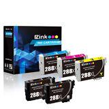 5P Black & Color for 288 XL Ink Cartridges For Epson XP-330 XP-430 XP-434 & More