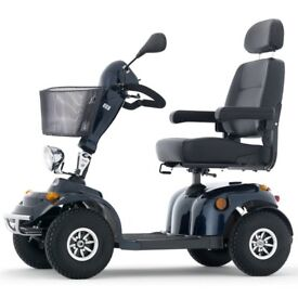 New Freerider Kensington S2D - 8mph plus Euro Spec mobility scooter - 1 year warranty