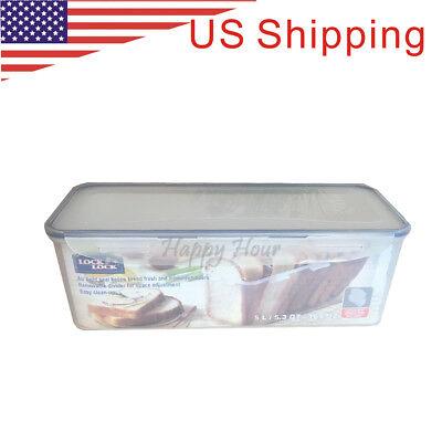 [Lock & Lock] Plastic Container and Storage Bread Box -