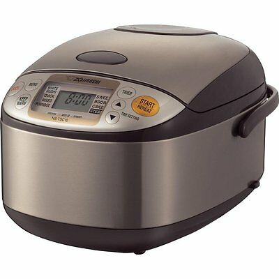 New Zojirushi 5 Cups Micom Rice Cooker and Warmer NSTSC10  FREE GIFT DOUBLE BOX