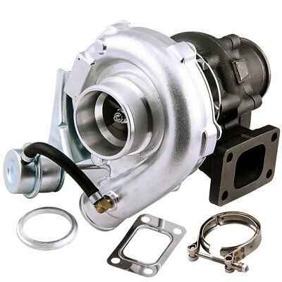T3/T4 T04E V-BAND Turbocharger Turbo .63 A/R with Internal Wastegate Universal Toyota Celica Turbo