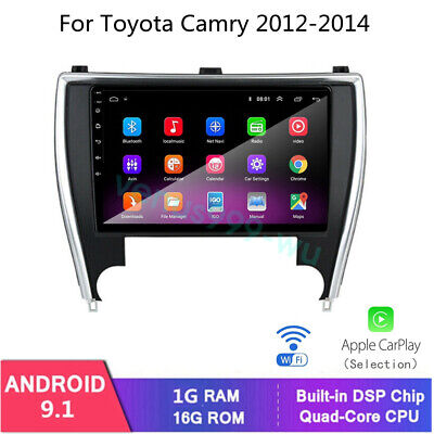 For Toyota Camry 2012-2014 GPS Navigation 10.2'' Car Radio Stereo DVD Player BT