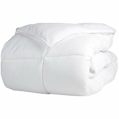 Superior Solid White Down Alternative Comforter, Duvet Inser