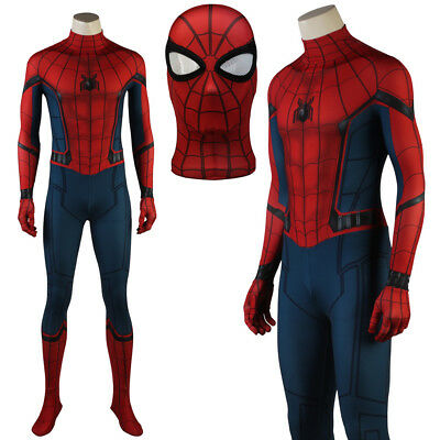 Spiderman Homecoming Superhero Costume Spiderman Suit Halloween Spandex Suit
