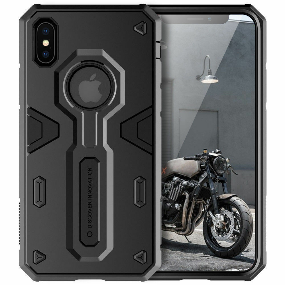 For Apple iPhone XS Max/XR/XS/X/8/7 Plus 6s Tough Shockproof Armor Hybrid Case