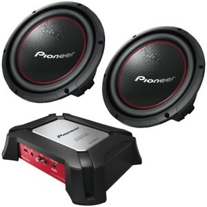 Looking for 2 subs and possibly an amp