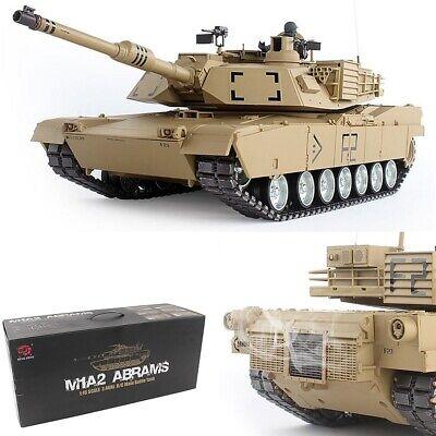 3918-1 Heng Long German Panther Type G RC Panzer 1:16 M1A2 Abrams Rauch Sound