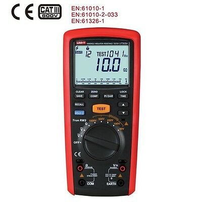 Uni-t Ut505a Digital Handheld True Rms Megger Insulation Resistance Meter Pi Dar