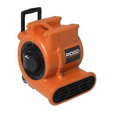 Ridgid Air Mover Blower Floor Carpet Dryer Fan Portable Garage Work Shop Wheels