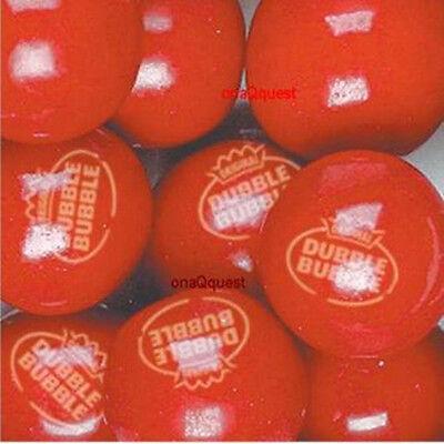2lb DUBBLE BUBBLE HOT CINNAMON Gum atomic vending candy fireball gumballs - Double Bubble Gumballs