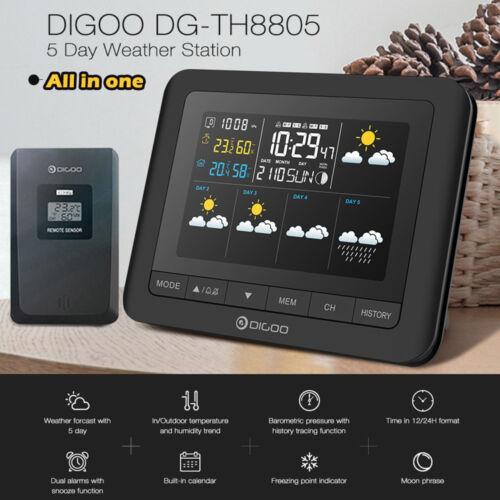 Station Digoo DG-TH8805 Wireless Weather Station USB Thermometer/Hygrometer