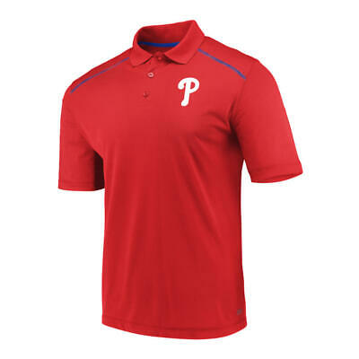 Philadelphia Phillies Men's Red Golf Polo- New With Tags! - FREE SHIPPING! Philadelphia Phillies Golf