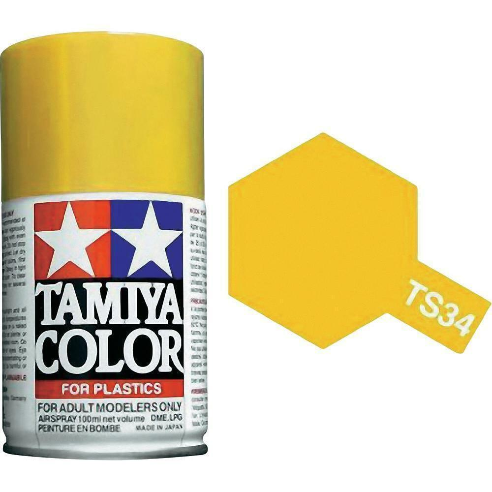 Tamiya TS-34 CAMEL YELLOW Spray Paint Can 3 oz 100 ml #85034