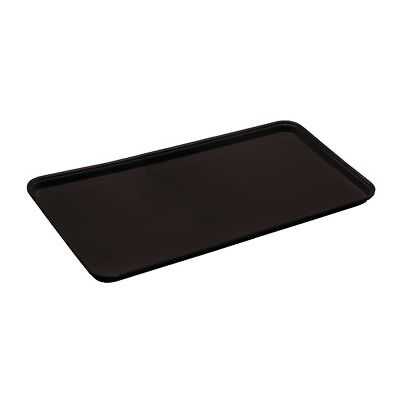 "Cambro Market Display Tray  Black Fiberglass - 30""L  x  12""W x  3/4""H"