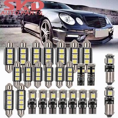 26x SMD LED Innenraumbeleuchtung Für Mercedes W211 S211 E-Klasse Weiß Innenlicht