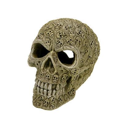 Blue Ribbon Pet Products Haunted Skull Aquarium Decoration Ornament