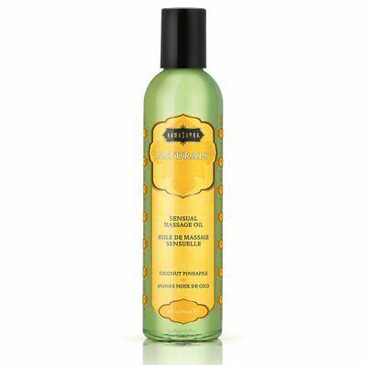 Coconut Scented Massage Oil - KAMA SUTRA NATURALS SENSUAL MASSAGE OIL - COCONUT PINEAPPLE 8oz