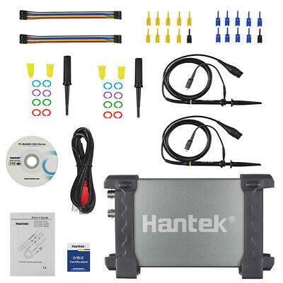 Hantek 6022bl Pc Digital Portable Oscilloscope Based Usb Logic Analyzer 16 Chs
