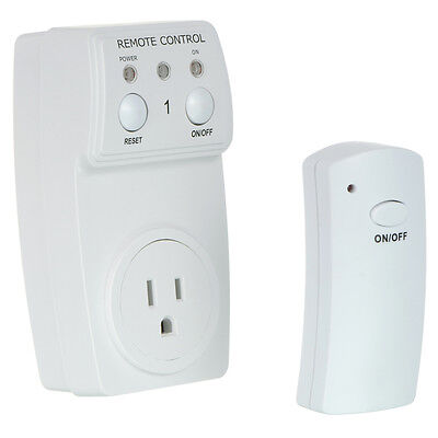Remote Control Outlet Wireless AC Power Electrical Light Switch Socket Plug US