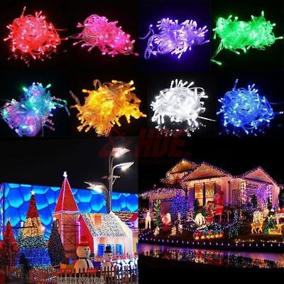 LED Fairy String Light Wedding Party Room/Outdoor Xmas Decor Lamp 10/20/30/50M
