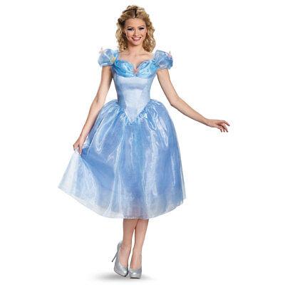 Womens Cinderella Deluxe Costume](Ladies Cinderella Costume)