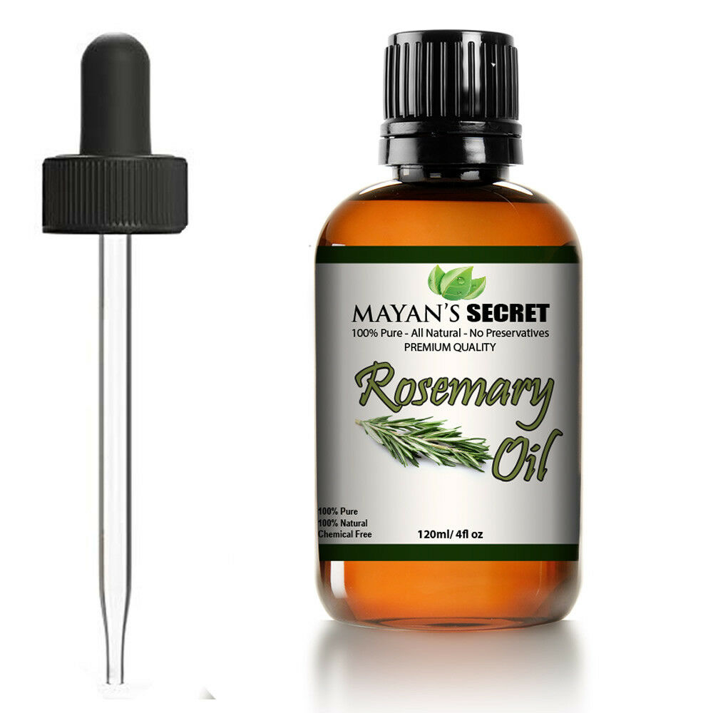 Rosemary Essential Oil 100% Pure Virgin & Natural Premium Therapeutic Grade-4oz Aromatherapy