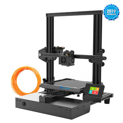 "Xvico X3 Pro 3D Printer 2.4"" Colorful Touch Screen PLA DIY Kit  Filament Parts"