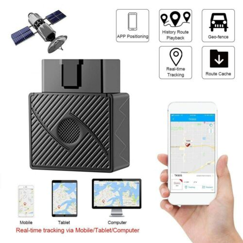 OBD2 GPS Tracker Real Time Vehicle Tracking Device OBD II  Car Truck Locator US Consumer Electronics