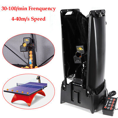 JT-A Ping Pong Table Tennis Robot Automatic Ball Machine Practice Random Fall for sale  Rowland Heights