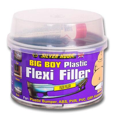 Plastic Flexible Bumper Repair Car Body Filler With Hardener & Applicator 250ml