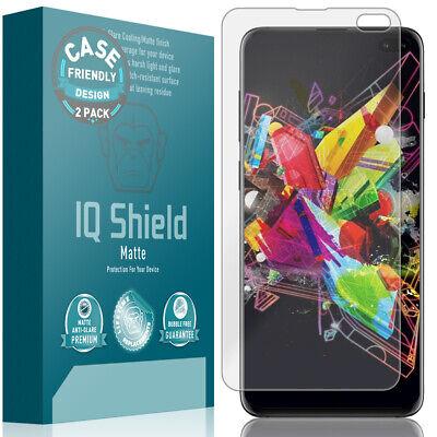 - 2x IQ Shield Anti-Glare Screen Protector for Galaxy S10+ Plus (Case Friendly)