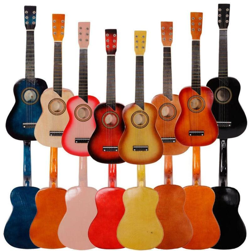 New 8 Colros Musical Guitar Toys for Kids gift 25inch Ghildren