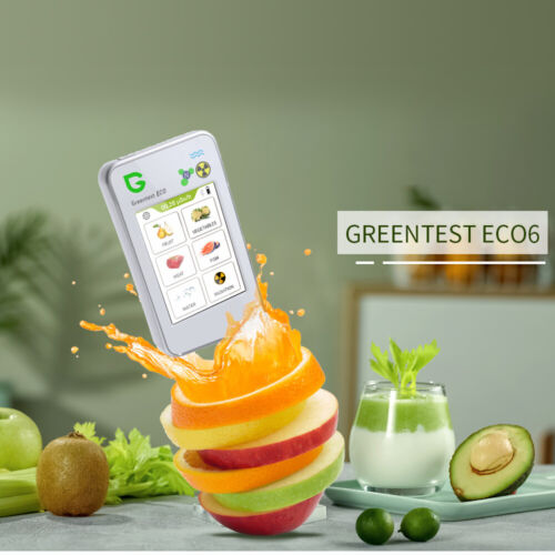 GREENTEST 6 High Accuracy Food, Meat, Fish Nitrate Tester, water TDS Bluetooth