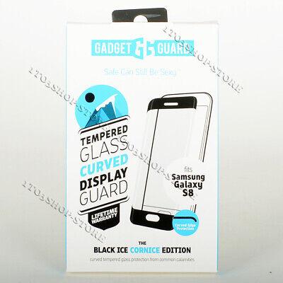 Gadget Guard Samsung Galaxy S8 Black Ice Cornice Edition Screen Protector Clear - Gadget Guard Screen Protector