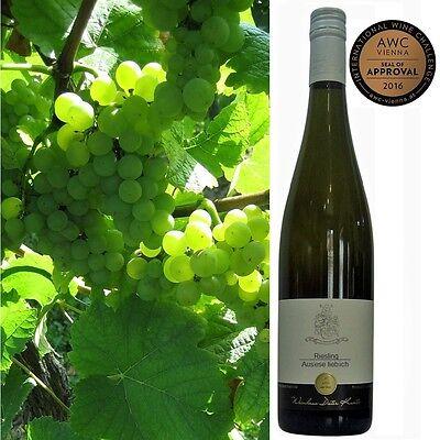 Riesling Auslese lieblich Pfälzer Weißwein vom Weingut Dieter Kuntz 3 Flaschen