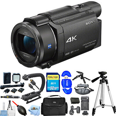 Sony FDR-AX53E AX53 4K Ultra HD Handycam Camcorder (PAL)!! PRO BUNDLE BRAND NEW!