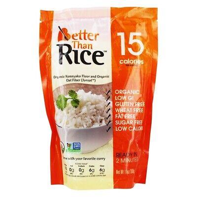 Better Than Foods - Organic Konnyaku Flour and Organic Oat Fiber Rice - 11 oz. ()