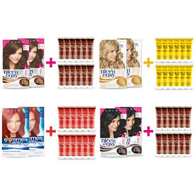 2x Nice'n Easy Hair colour + 12 Colour Seal Gloss