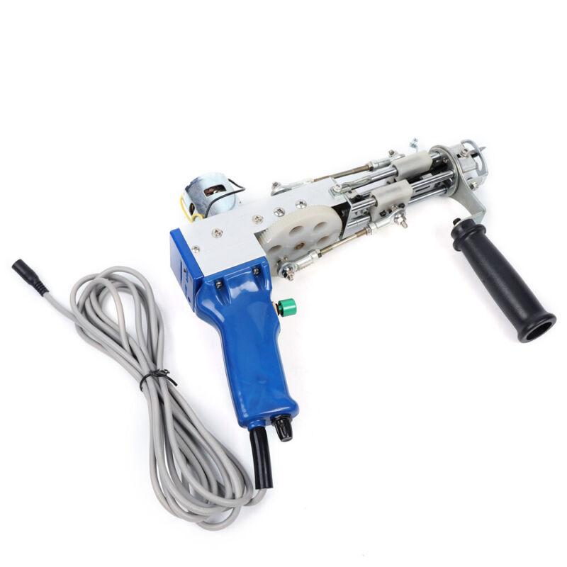 Carpet Weaving Machine Handheld Tufting Gun Electric Cut Pile Type 110V 50W