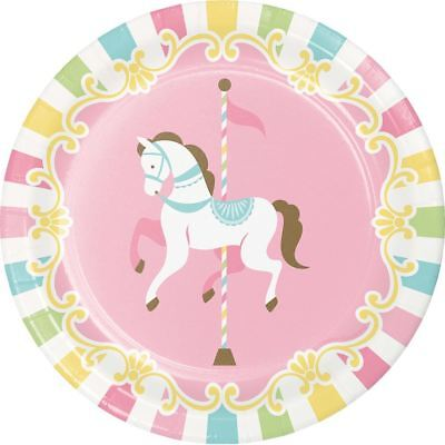 Carousel Baby Shower 8 Ct 7