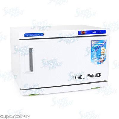 2 In 1 Uv Sterilizer & Towel Warmer Cabinet Spa Beauty Sa...